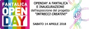 Open Day a Fantalica - 14 aprile